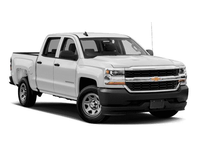 New 2017 Chevrolet Silverado 1500 Work Truck Crew Cab In Longview