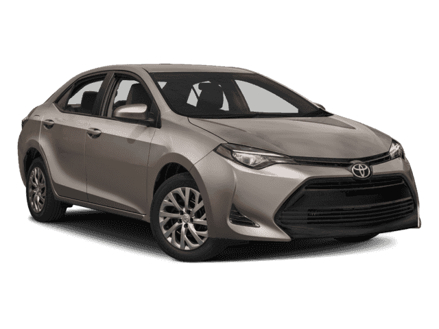 New 2018 Toyota Corolla LE ECO w/Package 1 Sedan