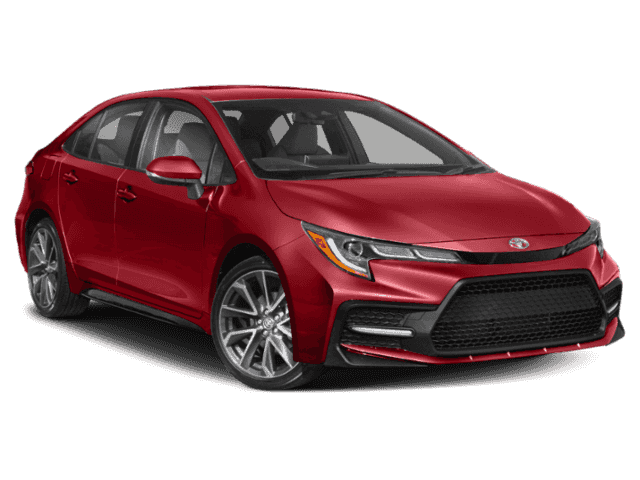 2020 Toyota Corolla Red