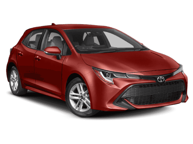 New 2019 Toyota Corolla Hatchback Xse 5d Hatchback In Milwaukee
