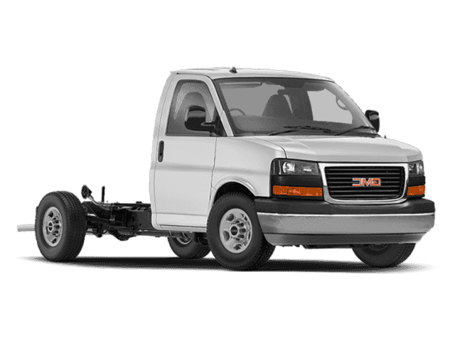 New 2019 GMC Savana Commercial Cutaway Work Van