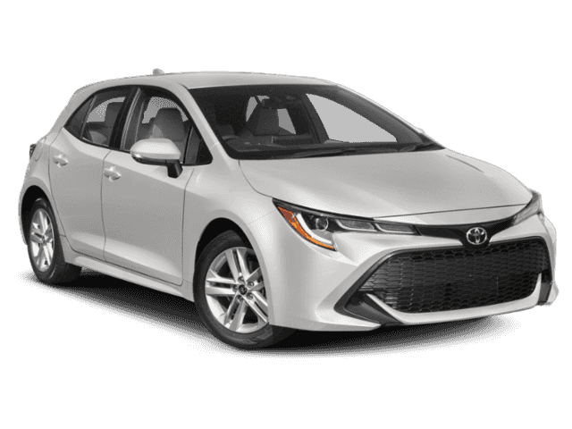 Stock #: 37722 White 2019 Toyota Corolla Hatchback XSE 5D Hatchback in Milwaukee, Wisconsin 53209