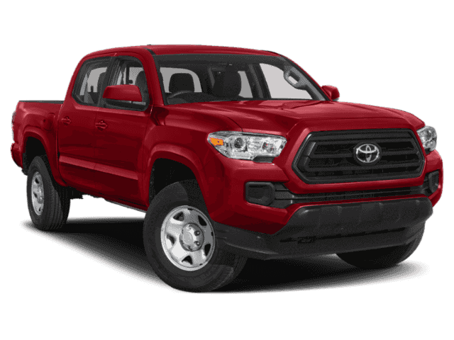 New 2020 Toyota Tacoma SR Double Cab 4x4 V6 Short Bed