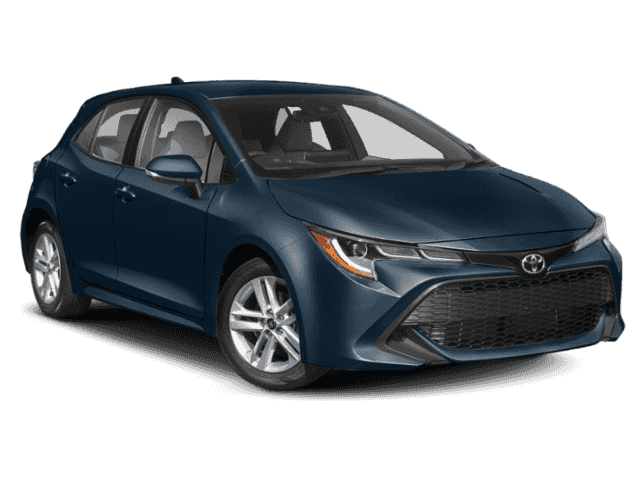 New 2020 Toyota Corolla Hatchback SE Automatic