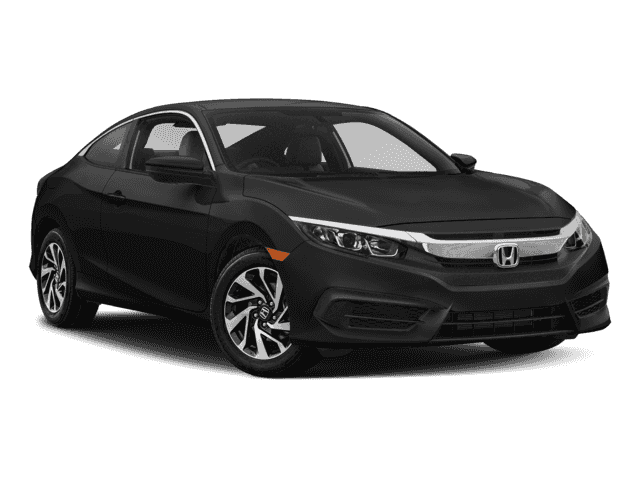 New 2018 Honda Civic LX FWD 2D Coupe