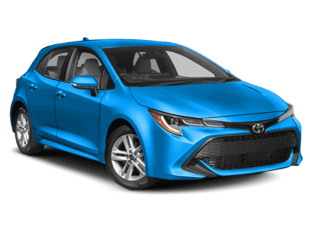 New 2019 Toyota Corolla Hatchback Manual