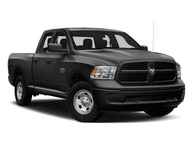 NEW 2018 RAM 1500 EXPRESS QUAD CAB® 4X4 6'4 BOX