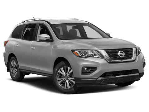 "2019 Nissan<br/><span class=""vdp-trim"">Pathfinder SV FWD Sport Utility</span>"