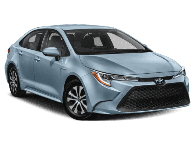 New 2021 Toyota Corolla Hybrid LE Sedan