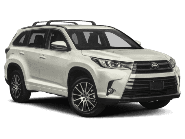 New 2019 Toyota Highlander SE AWD