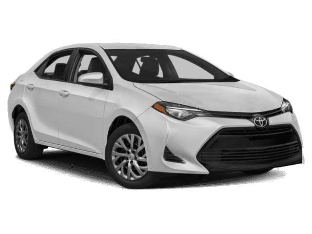 Stock #: 37782 White 2019 Toyota Corolla LE 4D Sedan in Milwaukee, Wisconsin 53209
