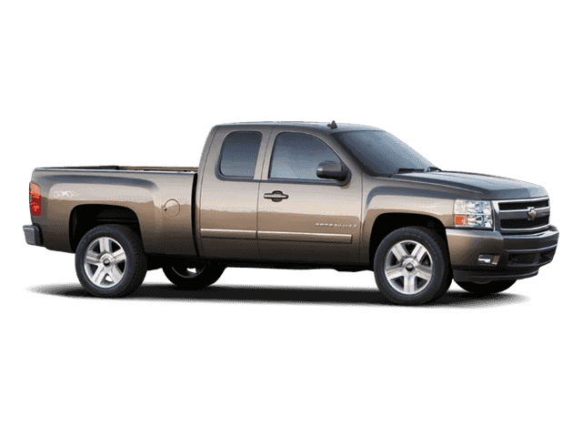 Pre-Owned 2008 CHEVROLET SILVERADO LT EXT CAB
