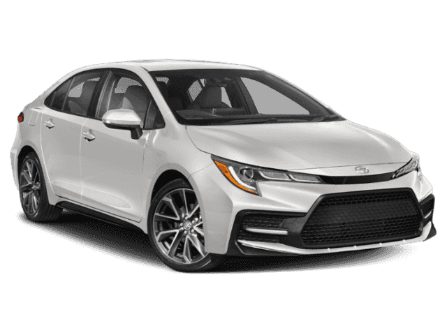 New 2020 Toyota Corolla XSE FWD Sedan
