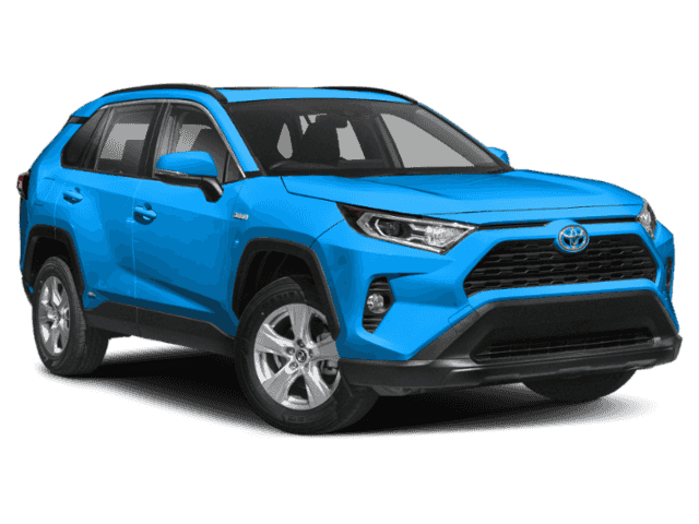Stock #: 38286 Blue 2019 Toyota RAV4 Hybrid LE 4D Sport Utility in Milwaukee, Wisconsin 53209