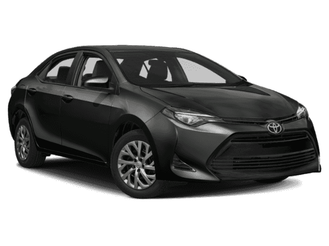 New 2019 TOYOTA Corolla 4Dr. Sedan LE