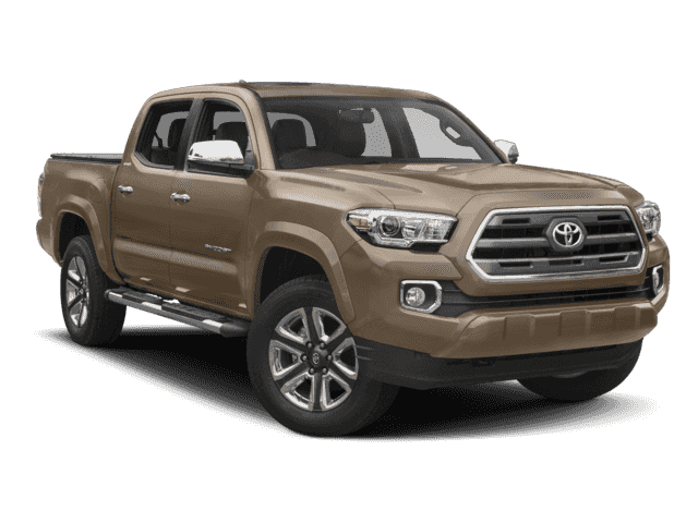 New 2017 TOYOTA TACOMA LIMITED DOUBLE CAB 5' BED V6 4X2 AT LIMITED