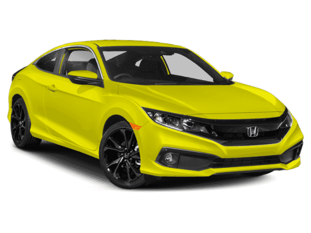 Honda Civic New >> New 2019 Honda Civic Sport Fwd 2d Coupe