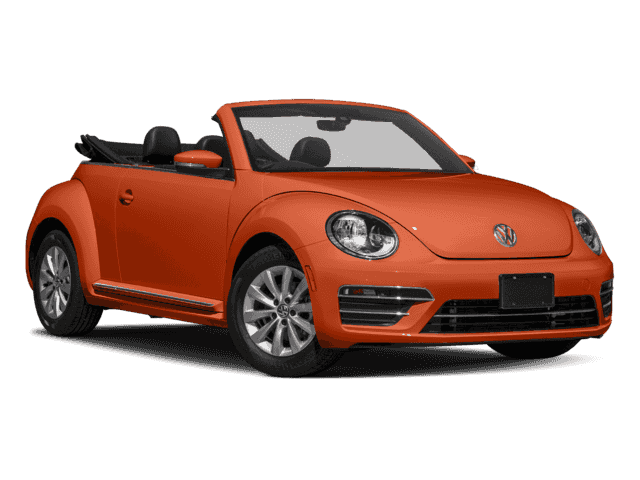 New 2018 Volkswagen The Beetle Convertible Coast 2.0T 6sp at w/Tip Front Wheel Drive Convertible
