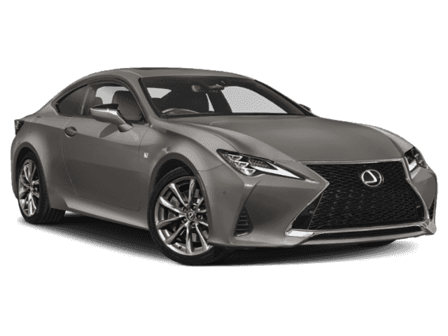 New 2020 Lexus RC 350 F Sport