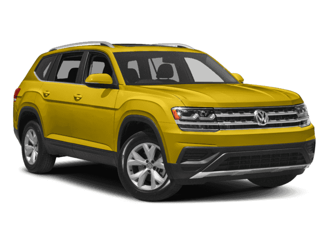 New 2018 Volkswagen Atlas Trendline 3.6L 8sp at w/Tip 4MOTION AWD