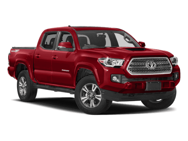 New 2018 Toyota Tacoma TRD Sport 4D Double Cab 4WD