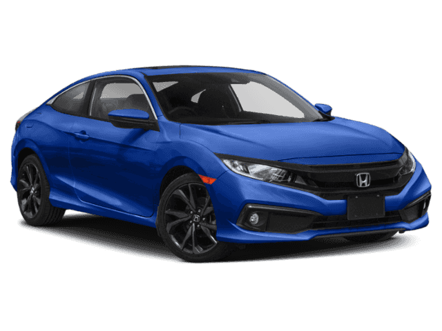 New 2020 Honda Civic Coupe Sport CVT