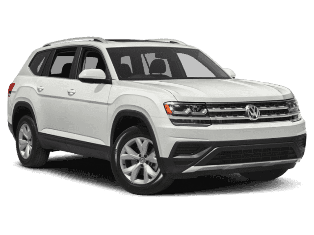 New 2019 Volkswagen Atlas SEL Premium 4Motion Captains Chairs