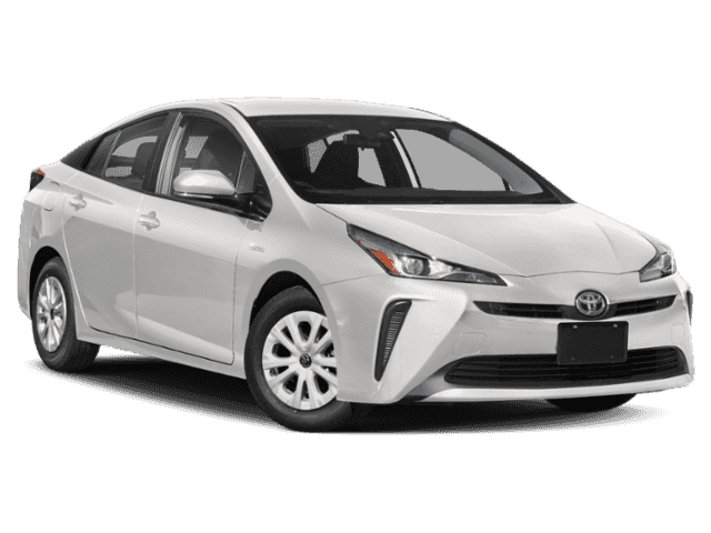 Stock #: 37748 White 2019 Toyota Prius LE 5D Hatchback in Milwaukee, Wisconsin 53209