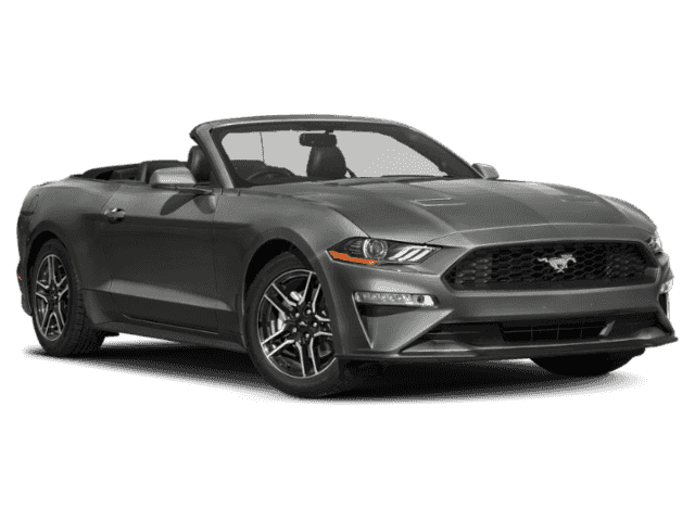 New 2019 Ford Mustang Ecoboost Rwd 2d Convertible