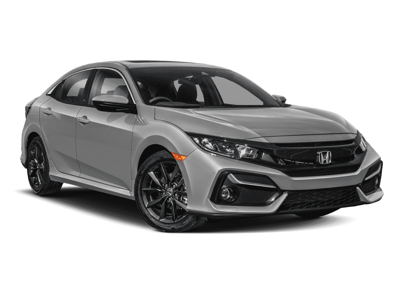 New 2020 Honda Civic Hatchback EX CVT