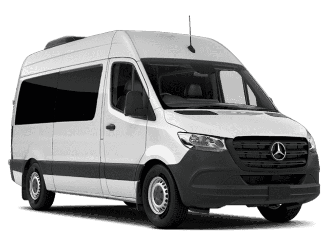 New 2019 Mercedes-Benz Sprinter 2500 Passenger 144 WB High Roof