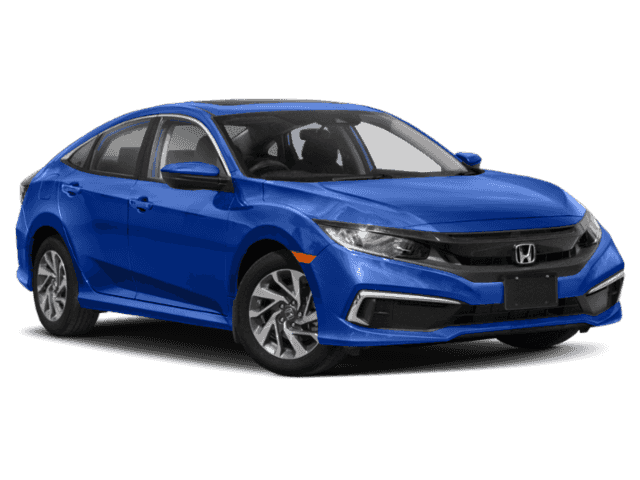 New 2020 Honda Civic Sedan EX CVT