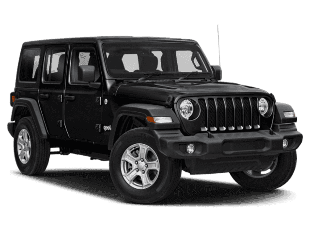 All Black Jeep Wrangler Sahara
