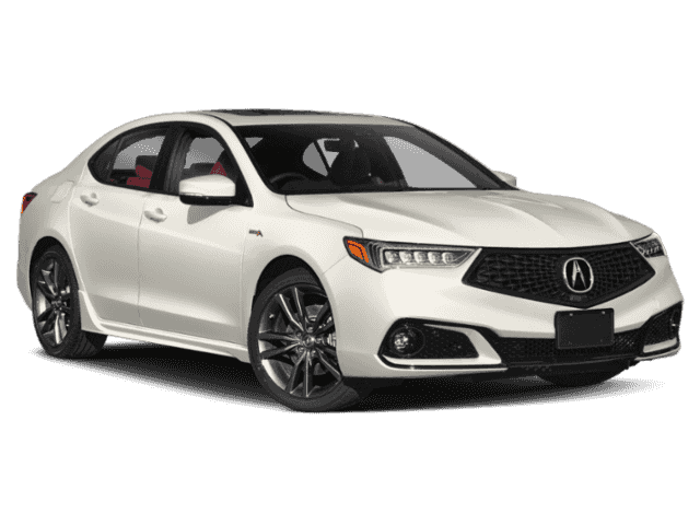 New 2020 Acura TLX SH-AWD Tech A-Spec Sedan w/Red Leather