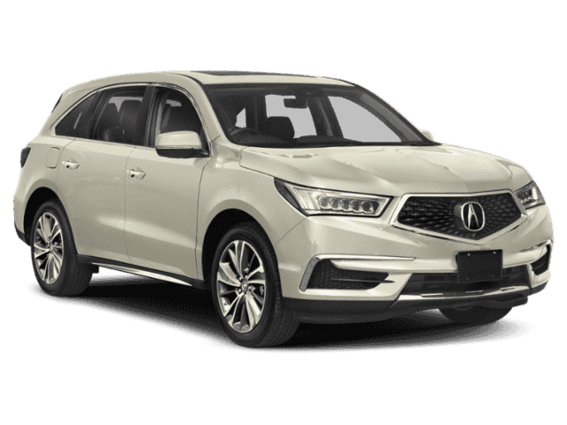 New 2019 Acura MDX w/Technology Pkg With Navigation & AWD