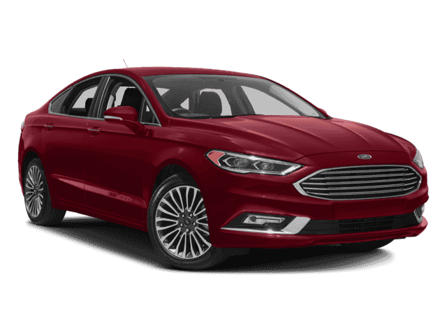 New 2018 Ford Fusion Titanium