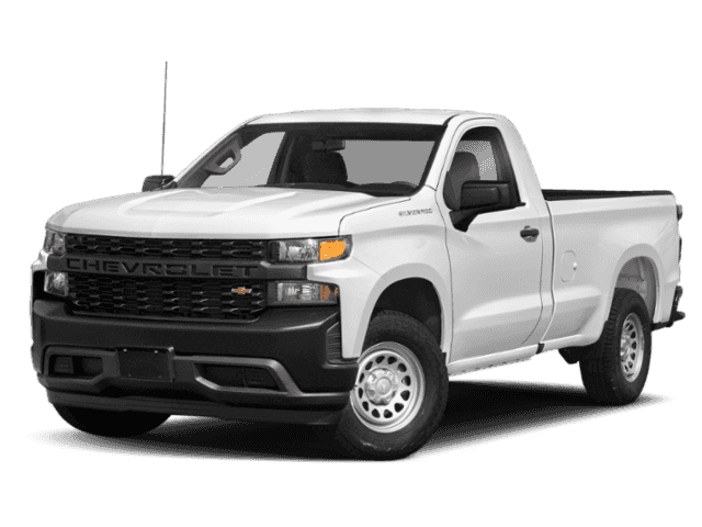 New 2019 Chevrolet Silverado 1500 Work Truck 4WD Regular Cab Pickup