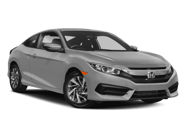 New 2018 Honda Civic Coupe LX-P Front Wheel Drive Coupe
