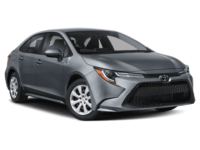New 2021 Toyota Corolla LE FWD 4D Sedan