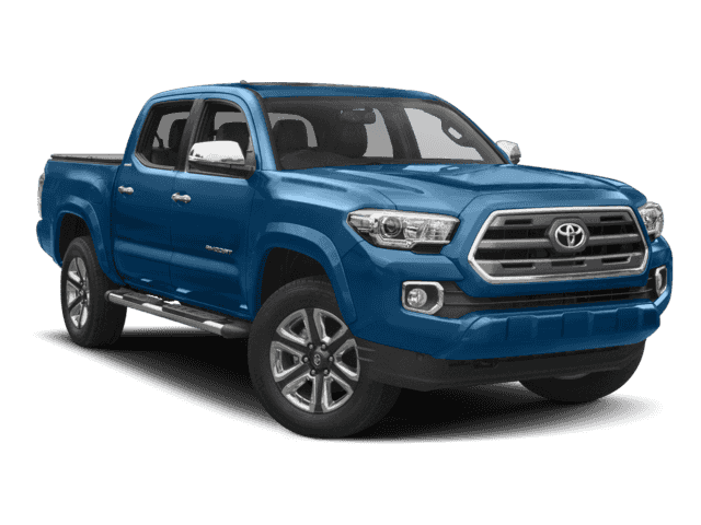 New 2017 Toyota Tacoma Limited 4D Double Cab