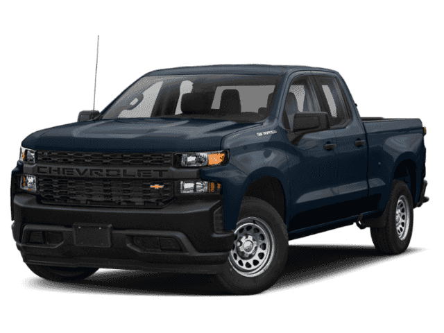 New 2019 Chevrolet Silverado 1500 New Double Cab 4x4 LT / Standard Box Four Wheel Drive Pick up