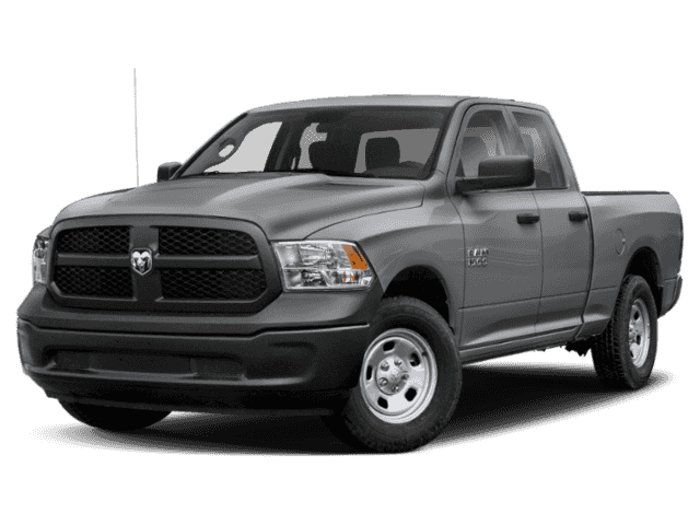 "New 2019 RAM 1500 Express 4x4 Quad Cab 6'4"" Box"