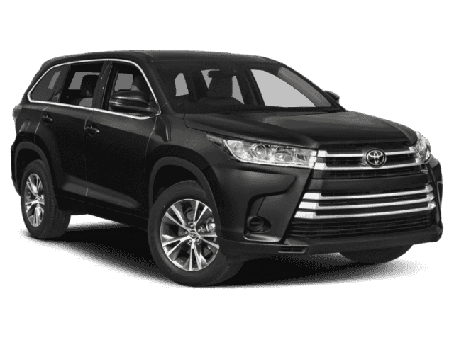 New 2019 Toyota Highlander LE 2WD