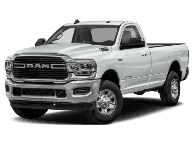 New 2020 RAM 2500 Tradesman 4x4 Reg Cab 8' Box