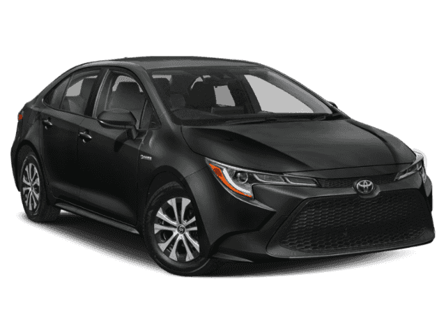 New 2020 Toyota Corolla Hybrid LE w/accessories(see description)