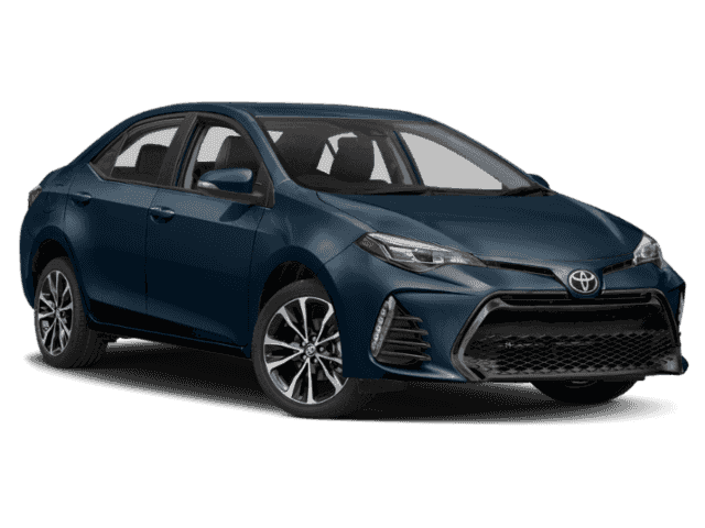 New 2019 Toyota Corolla Xse 4dr Car In Los Angeles T9128847