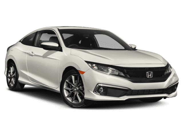 New 2019 Honda Civic Coupe EX CVT FWD 2dr Car