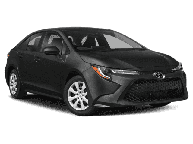 New 2021 Toyota Corolla LE 4DR
