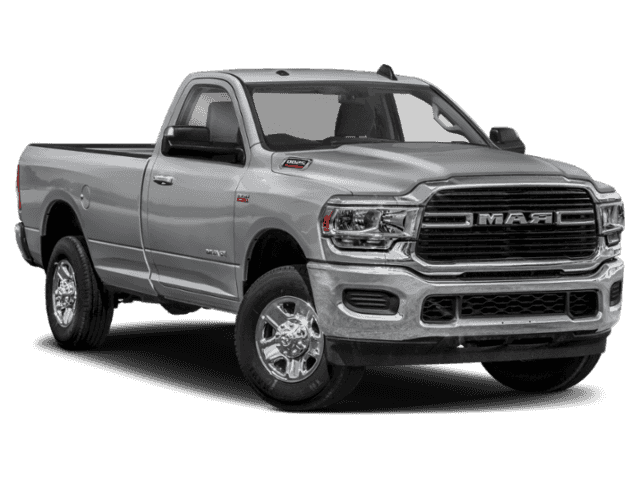 New 2019 Ram 2500 Tradesman 4x4 Reg Cab 8' Box 4WD