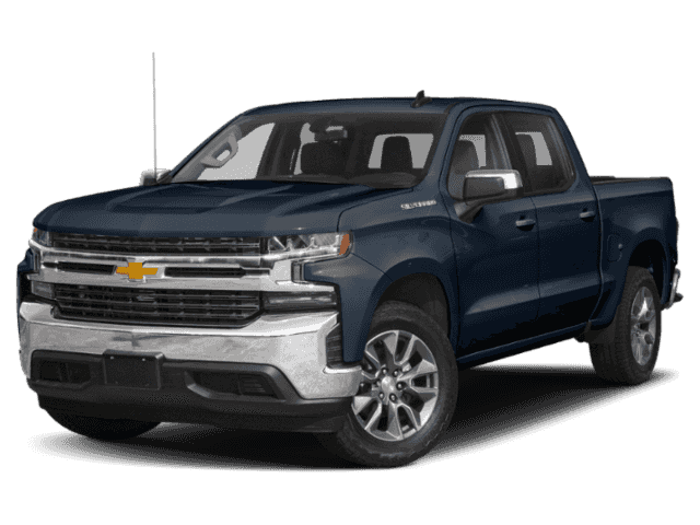 New 2019 Chevrolet Silverado 1500 Custom 4WD Crew Cab Pickup
